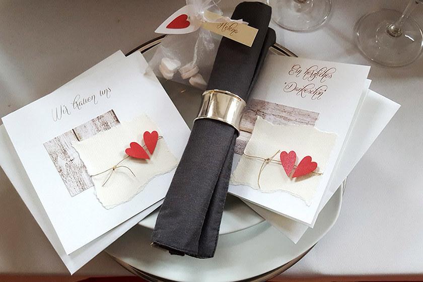 Creativ Card - Hochzeitskarten/-kerzen